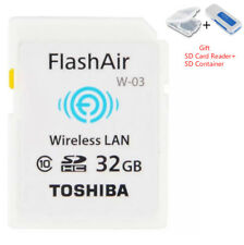 Toshiba Flash Air 32GB Class 10 Wireless Memory Card / Wifi SD Card For Camera