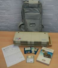 Vintage Amstrad PPC512 Portable Computer, Carry Case, Boot Disk, Working Order