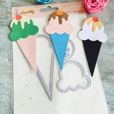 Ice Cream Cutting Dies Stencil For DIY Scrapbooking Photo Album Paper Card Craft