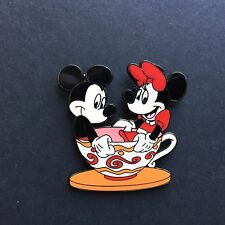 HKDL Hong Kong - Mickey & Minnie Mouse Tea Cup Disney Pin 45784