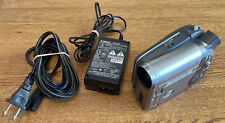 EUC Canon DC10  DVD or MiniSD Camcorder NTSC, 10x Optical Zoom w/ power charger