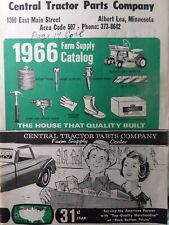 Central Tractor Parts Co 1966 Farm Supply Catalog Case Ford John Deere Mf Ih Ac