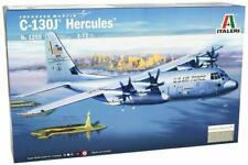 C-130 J HERCULES (RAF, USAF/ANG, ITLIAN AF MKGS) #1255 1/72 ITALERI
