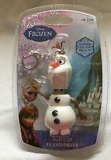 Disney Frozen Olaf Shaped 8GB USB Flash Drive Sakar Plug & Play *New
