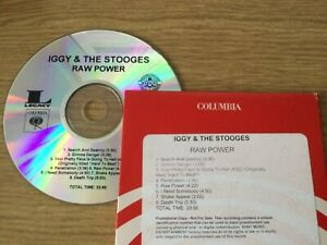 Promotional 3 x cd album set - The Stooges – Iggy And The Stooges: Raw Power