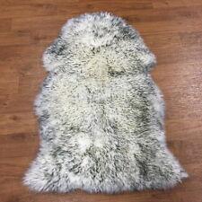 2.1'x3.3' Australian Sheepskin Rug Natural Fur Pelt Carpet for Sofa Living Room