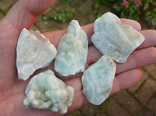 1 x NATURAL ROUGH RAW HEMIMORPHITE STONE 35mm to 50mm length GIFT BAG & ID CARD