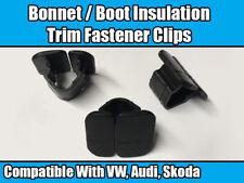 10x Clips for VW AUDI a2 a4 a6 GOLF POLO PASSAT Bonnet Hood Boot Insulation Trim