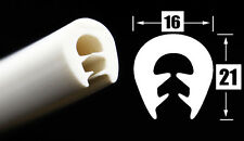 KS/TPE5-8W - 3m Kantenschutz PVC Gummi Profil Dichtung für Blech weiß  5-8mm