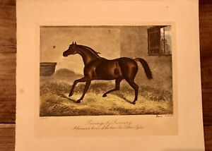 E Corbet / E Hacker Antique vintage engraving Revenge By Recovery. 1863
