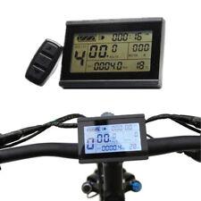 Control Pantalla Medidor LCD3 Paneles Universal Datos View 24/36/48v Ebike