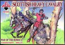 Red Box Models 1/72 SCOTTISH HEAVY CAVALRY WAR OF THE ROSES Figure Set