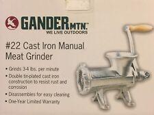 Gander Mountain #22 Cast Iron Manual Meat Grinder