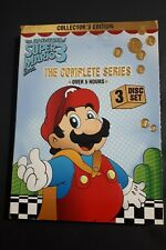 The Adventures of SUPER MARIO Bros 3 Collector's Edition 3 disc DVD complete