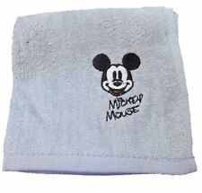 Disney hand towel, Mickey Mouse, Color: Gray, Size:  9.8 x 9.8 in,