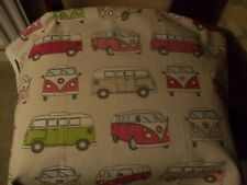 FRYETTS VW CAMPER VAN 100% COTTON FABRIC