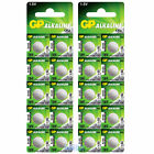 20 x LR54 GP 1.5V Alkaline Button Cell Watch Battery AG10, 89A, LR1130, 189, 387