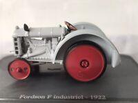 U/H HACHETTE DIECAST 1/43 1922 Fordson F Industriel TRACTOR