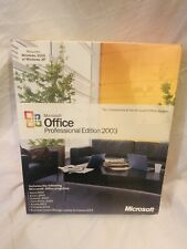 Microsoft Office Professional Edition 2003 Sealed Full Retail Box 269-06738 New