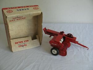 Vintage Carter Tru-Scale Model 1/16 Hay Baler Farm Implement w/ Box #408 NOS