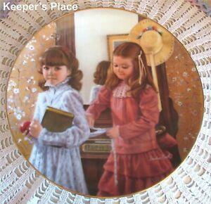 Sandra Kuck SCHOOL DAYS SEPTEMBER 1st Issue Childhood Almanac Collector Plate
