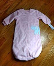Carter's Girl Baby Sleep Bag Sz 0-9 months