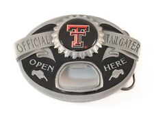 TEXAS TECH RED RAIDERS TAILGATER BELT BUCKLE 24151 new college belt buckles