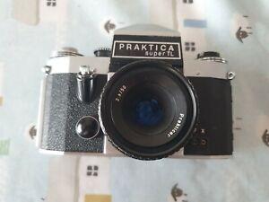 Praktica Super TL camera body. SPARES OR REPAIR