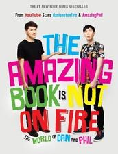 The Amazing Book Is Not on Fire : The World of Dan and Phil by Dan Howell and Phil Lester (2015, Hardcover)
