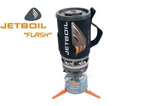 Jetboil Flash Stove Black Carbon Lightweight Compact Camping