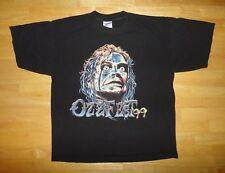 1999 Ozzy Osbourne - Ozzfest 99 - The Last Supper Tour Black Shirt - Adult Size