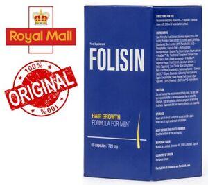 Folisin - hair growth formula for men, reduce the intensity of hair loss