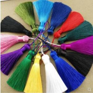 V08 (1,10 pcs) 8cm Long tassel (use for earring bookmark runner dress)