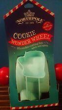 Hallmark Northpole Christmas Cookie Wonder Wheel Plastic Cookie Cutter New 2014