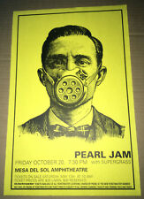 PEARL JAM PROMO Concert Gig TOUR Poster October 2000 SUPERGRASS New Mexico