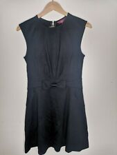Ted Baker ladies little black dress a-line size 2/ UK 10 sleeveless