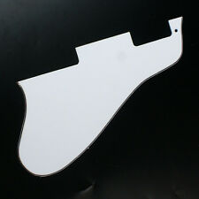 Jazz Archtop Semi hollow Guitar Pickguard Fits ES 335 Long Version ,3ply White