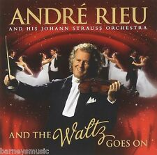 ANDRE RIEU ( NEW SEALED CD & DVD ) AND THE WALTZ GOES ON