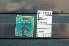 STAMPS OLD CHILE USED (F123253)