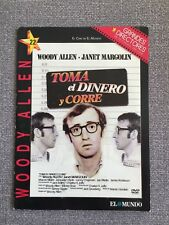 TOMA EL DINERO Y CORRE - WOODY ALLEN - DVD PAL 2 SLIMCASE CARTON - 80 MIN
