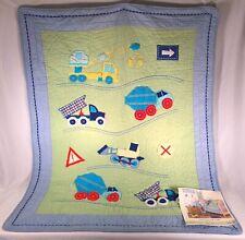 Kids Line Construction Zone Boys Nursery Child Infant Bedding Quilt Comforter