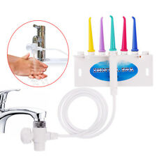 AZDENT Water Dental Oral Flosser Irrigator Jet Dental SPA Teeth Cleaning 5 Tips
