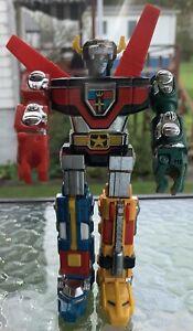 """Voltron Lion Force Diecast Robot Action Figure 6"""" - 1981 Bandai TOEI"""