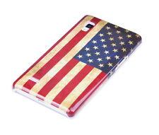 Schutzhülle f LG Optimus L9 P760 Case Cover Tasche USA Amerika retro Flagge