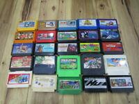 Nintendo Famicom Lot of 20 piece Mario Bros. Famicom Jump NES T662