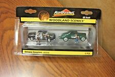 WOODLAND SCENICS AUTO SCENE GETAWAY GANGSTERS HO SCALE VEHICLES