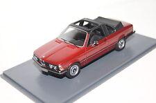 BMW 320 E21 Baur Cabrio rot metallic 1:43 Neo neu & OVP 43289