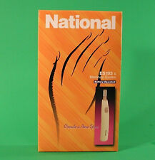 National(= Panasonic) Nail Care System, Battery Operated, ES103C, Made in Japan