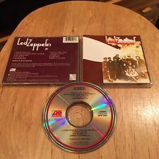Led Zeppelin - 1969 II CD 80s US press robert plant jimmy page john paul jones