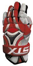 "New STX K18 lacrosse gloves 13"" red Lax mens box field kyle harrison"